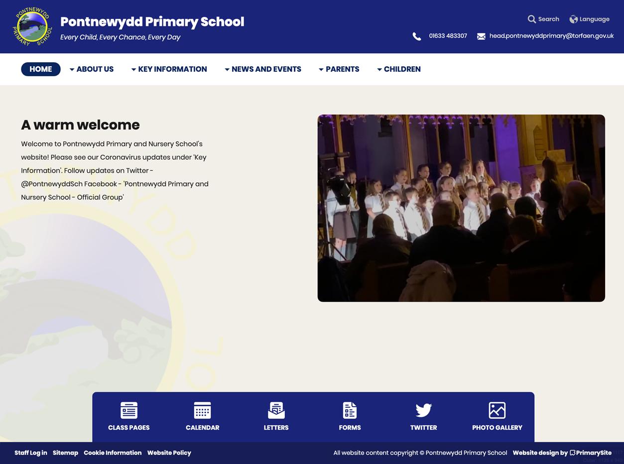 Pontnewydd Primary School