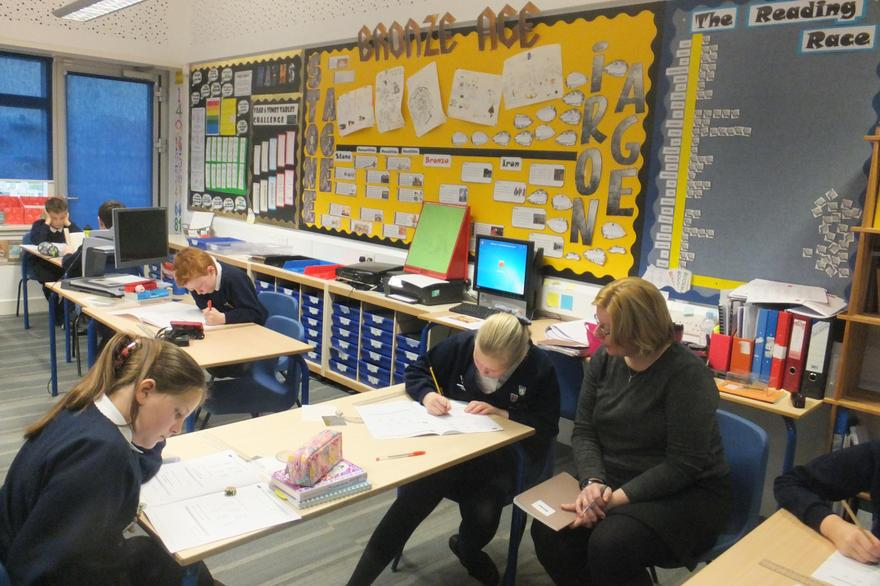 Y6 tests but also involved in a broad curriculum