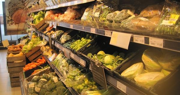 Fresh fruit display