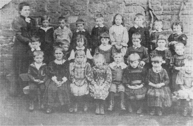 School class photo - believed to be in the 1890s