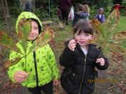 During this Autumn Term we have been very busy making new friends, exploring our new envrionment and trying hard to be more independent!  In the pictures below you can see we have been learning all about our changing world.  We went on an Autumn walk to find evidence of the changing seasons and we made our own seasonal trees!  We especially liked making our winter tree with all the sparkles and glitter! 7