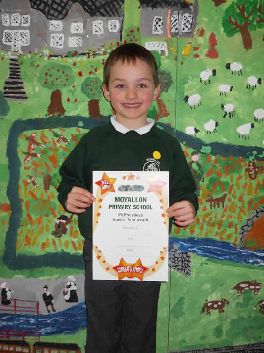 Certificate Winner 27th February