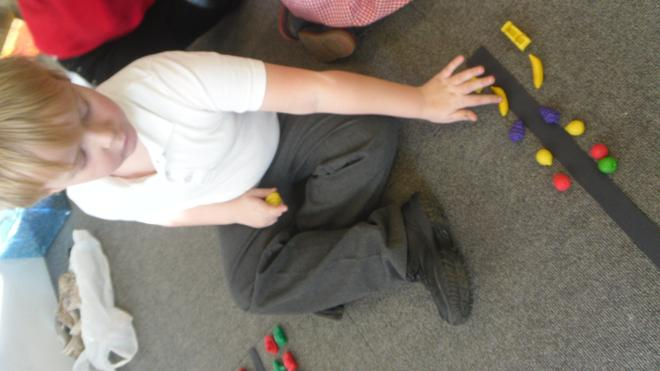 I can make a symmetrical pattern - it is the same!