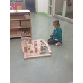 Making a Football Stadium for Harry & the Dinosaur
