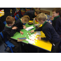 Some of our multi-sensory spelling strategies