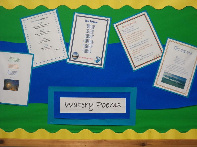 Poetry about rivers and the sea