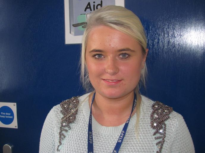Miss Stafford - Teaching Assistant