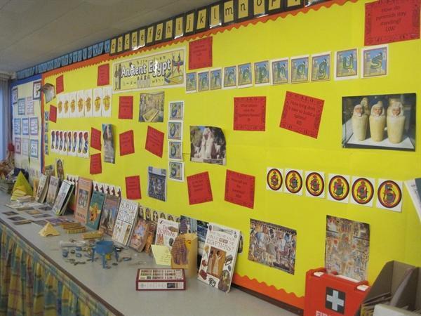 Egyptians display
