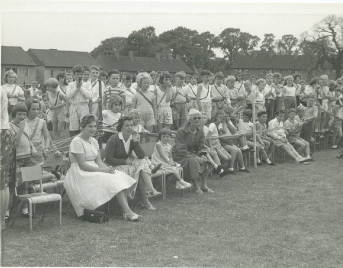 1959 -Sports' Day on the field