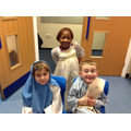 Mary and Joseph with our Star