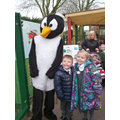 Smartie met some of our parents and children too.