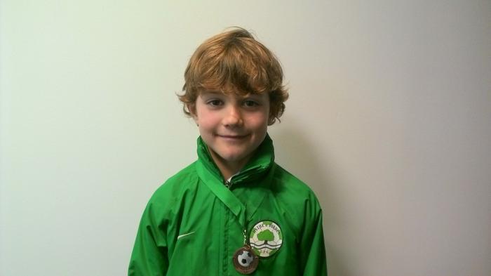 Ethan - 3DS - Football medal