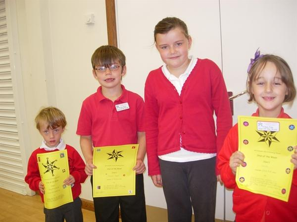 Star of the week - 1st Oct