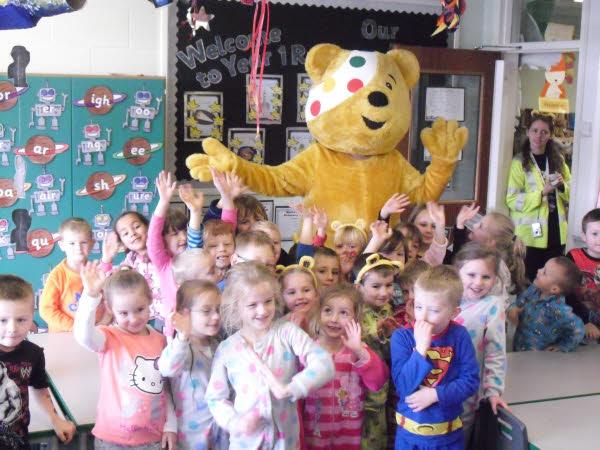 We welcomed Pudsey to Bailey Green