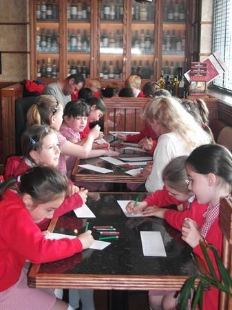 Fun and Pizza at Frankie and Benny's!