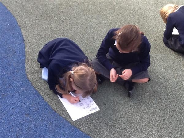 Maths challenges outside