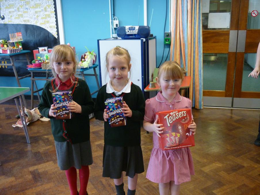 Nursery/Reception - Prizes