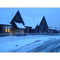 Front of school in last weeks snow.