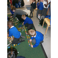 Competition time: who can make the longest snake?