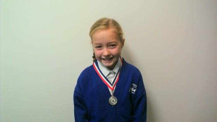 Chloe - Gymnastics medal