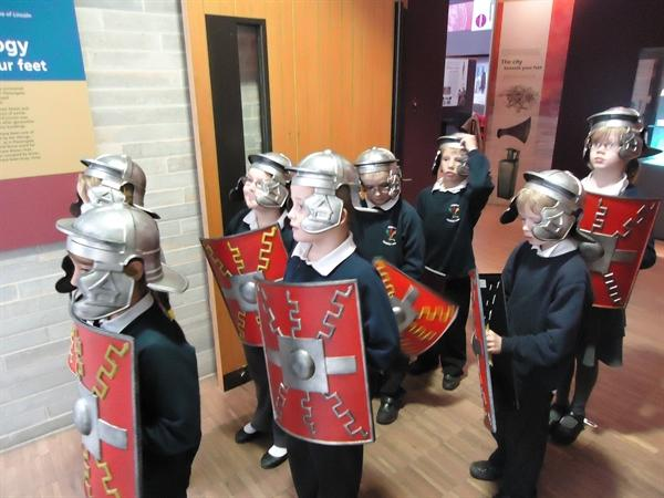 Year 3 as the Roman army!