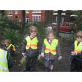 Gardening club help plant at Devonfield Gardens