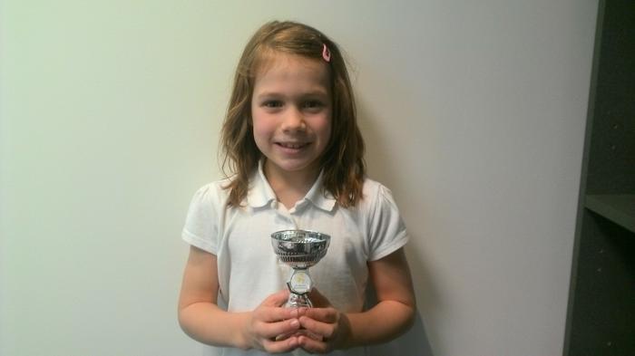 Lilia - Fun Days Club award