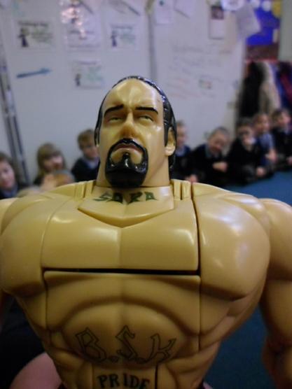 He is a fantastic wrestler!