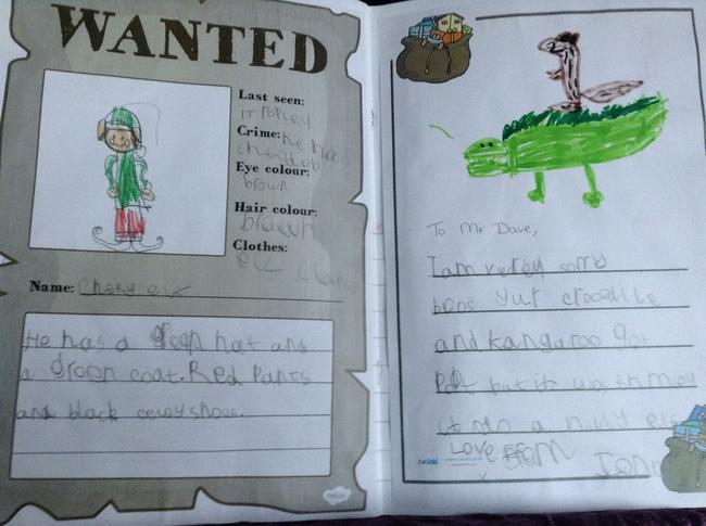 Using adjectives!