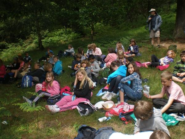Lunch in Dalby Forest
