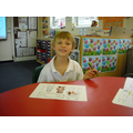 Colouring Goldilocks pictures.
