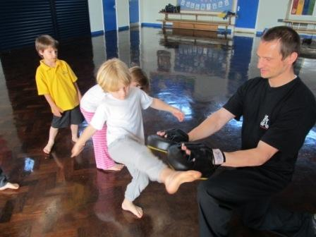 Martial Arts in our School Hall