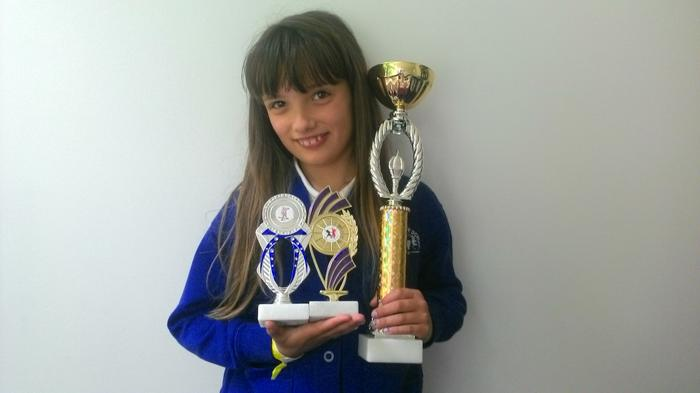 Courtney - Dance competition - 4th & 6th place!