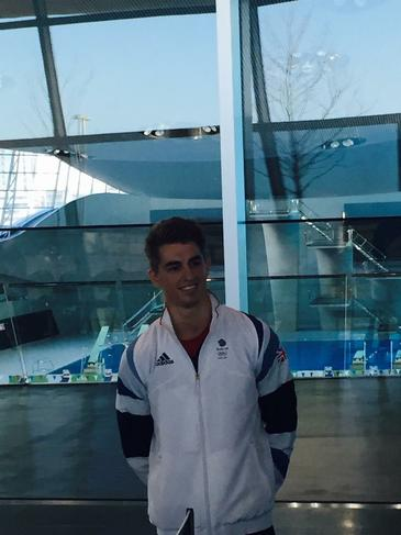 Max Whitlock competes for GB in Gymnastics