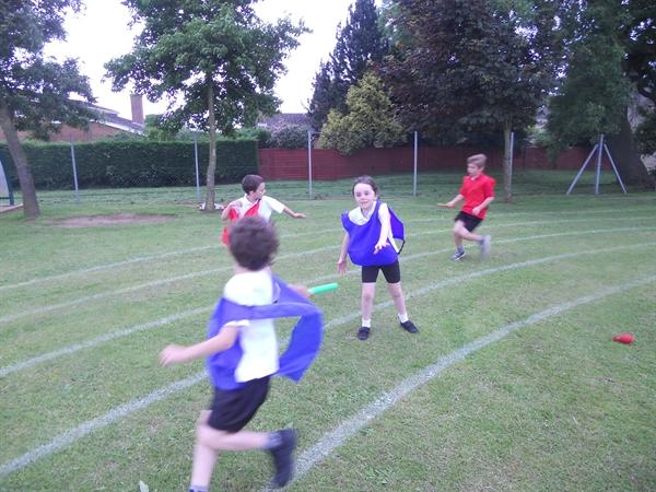 Mini Olympics in Enrichment time