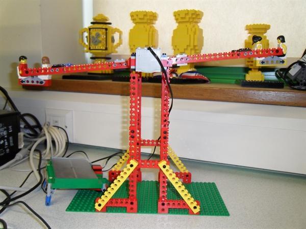 Lego Technology Club - Solar fair ride