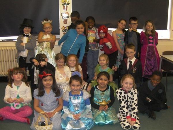 Can you guess who our book characters are?