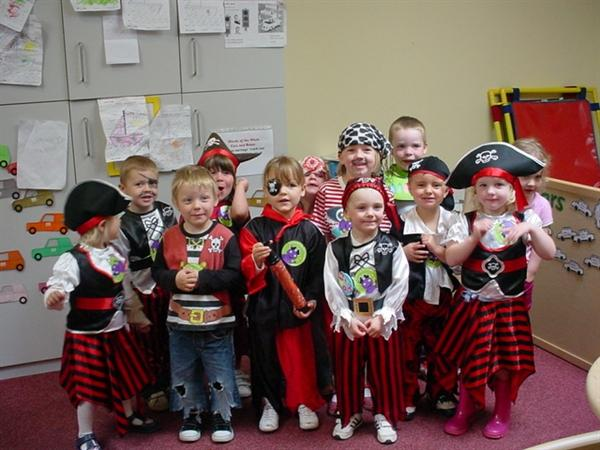 Pirates was our theme for this years Big Toddle