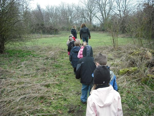 14th March '11 - we went to Cottam Nature Reserve!