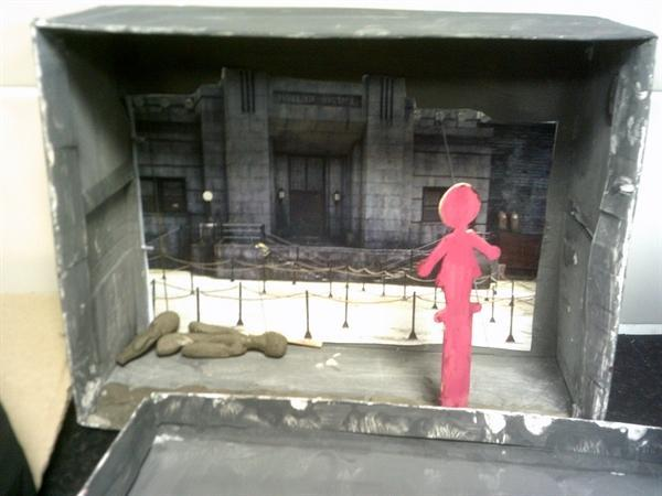Hunger Games Dioramas