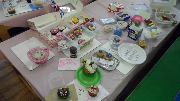 Summer fayre 2013- Cup cake competition