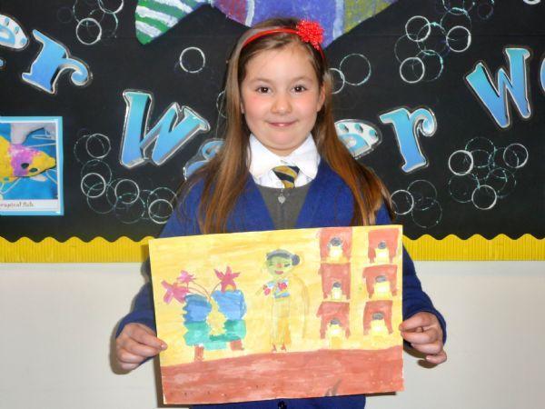 Hiruni has sent her art work to us!!