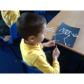 Making a cotton bud skeleton