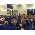 The children were enthralled!