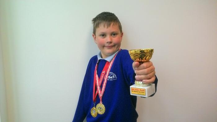 Cambell - 4 year ski award