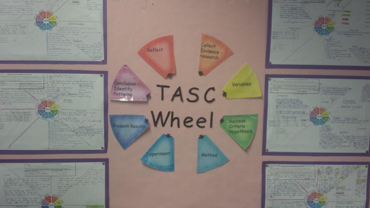 TASC Wheels for science
