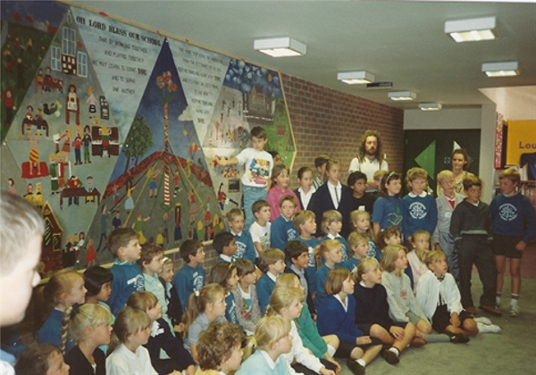 Official opening of our School 1989