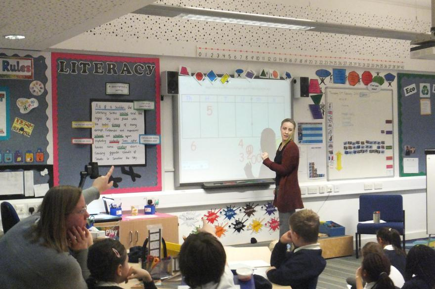 Mrs Golder returns to Howe Dell and Y4