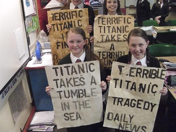 Titanic Artwork with Mr Casado