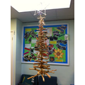 LOTCs Chrismas tree made by the children :O)